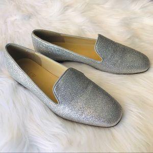 J. CREW Glitter Loafers